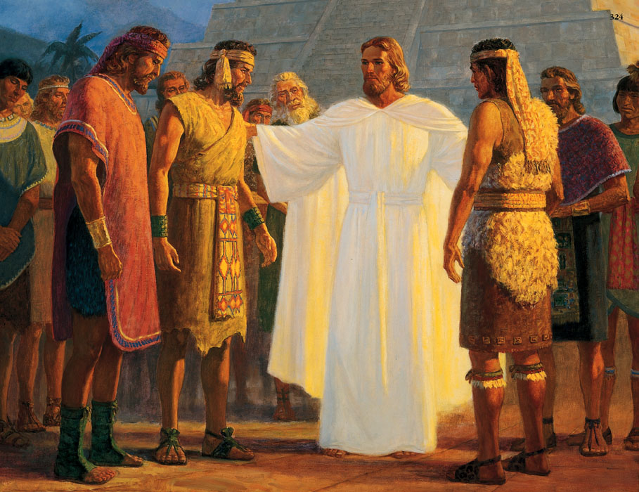 Christ Book of Mormon